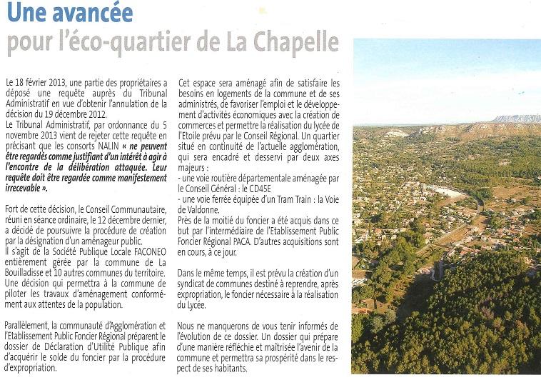 éco quartier de La Chapelle
